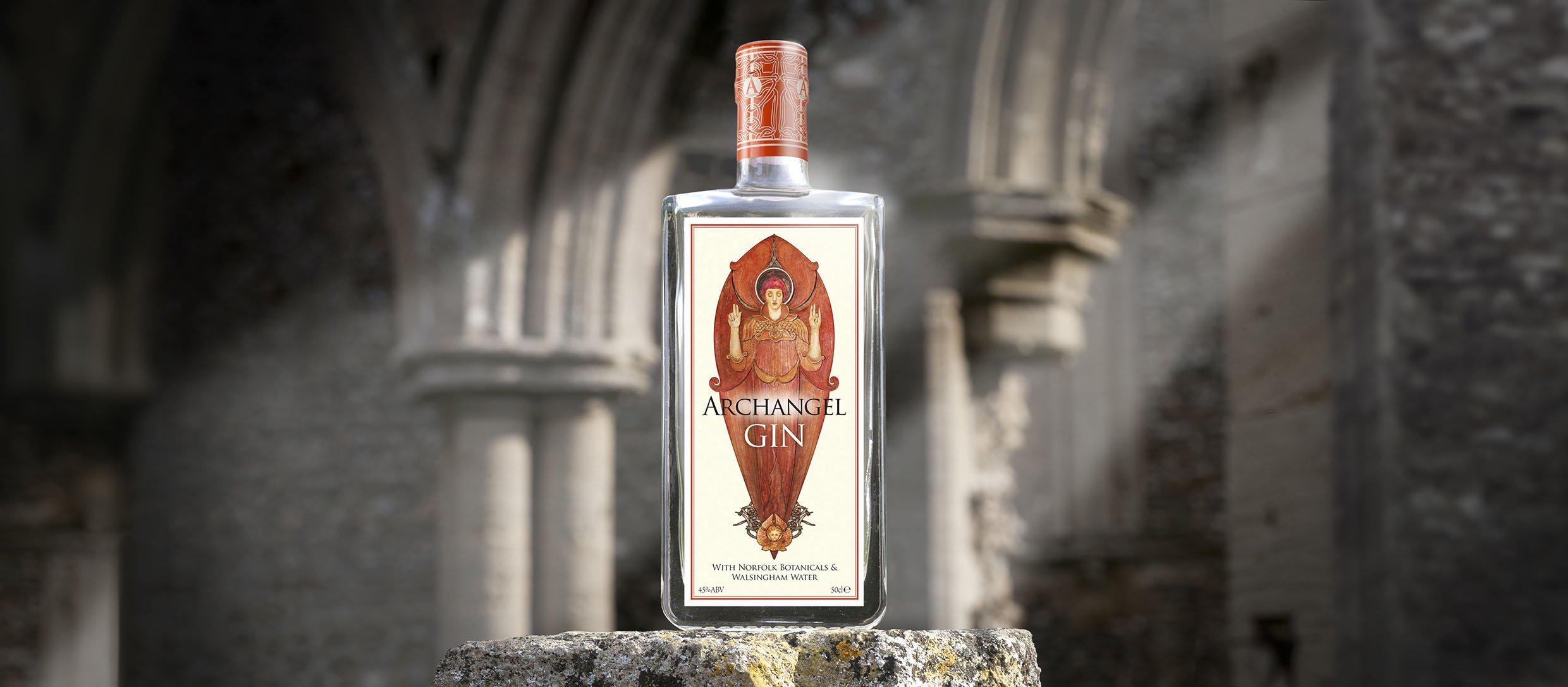 Archangel Gin in Creek Abbey Wide