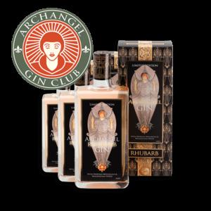Archangel Gin -Gin Club Rhubarb